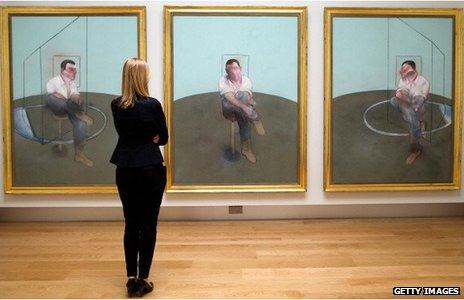 Francis Bacon's Three Studies for a Portrait of John Edwards