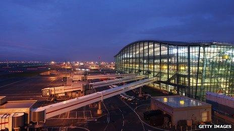 Heathrow's Terminal 5 building
