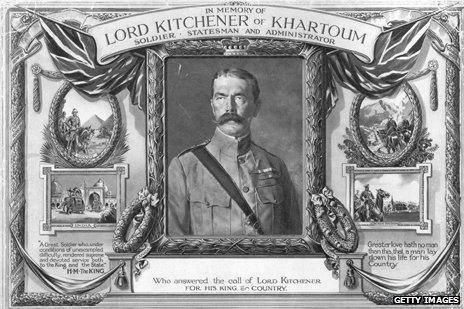 In memory of Field Marshal Lord Horatio Herbert Kitchener