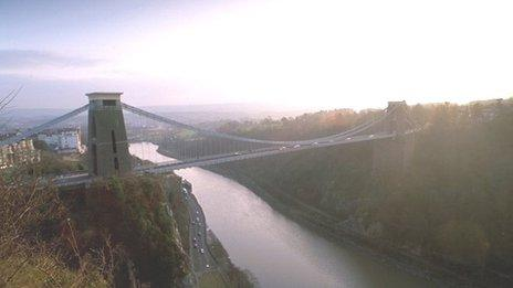 Zip Wire Proposal For Avon Gorge In Bristol Bbc News