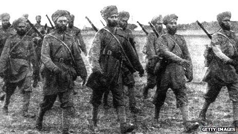 Sikh Soldiers in France