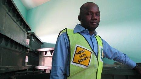 Facinet Coulibaly, general manager of Macrowaste