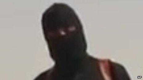 Jihadist shown in James Foley beheading video