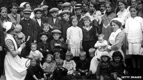 Belgian refugees in London