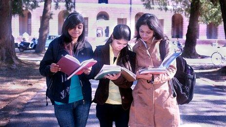Students in India