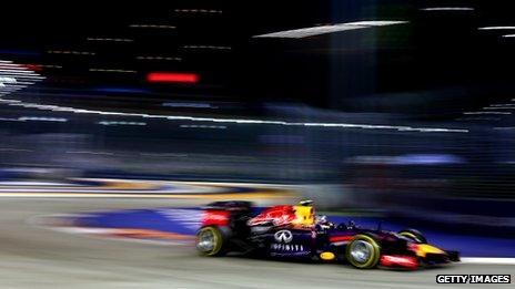 Singapore Grand Prix, 21 September
