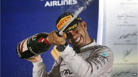 Lewis Hamilton, Singapore Grand Prix