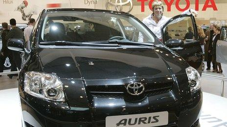 Toyota Auris at Brussels Auto show