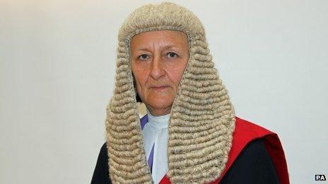 Judge Sally Cahill