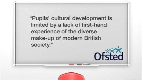 Quote from Ofsted report