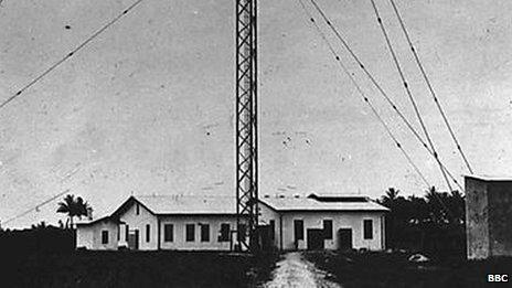 Wireless station in Kamina