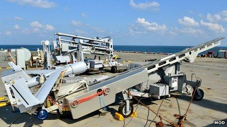 Unmanned aircraft catapult