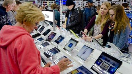 Tablet computers on sale