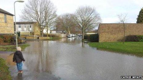 Flooding in Basingstoke