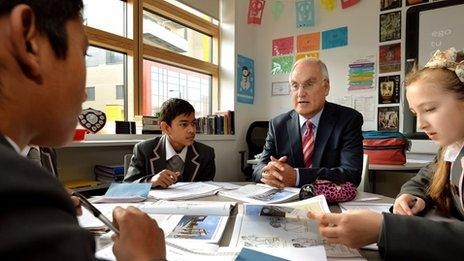 Ofsted chief Sir Michael Wilshaw