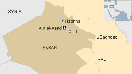 Map of Anbar