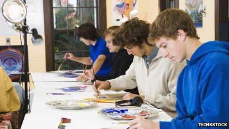 Arts class