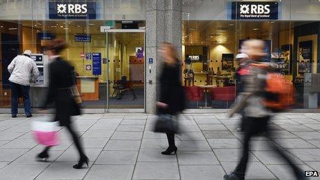 RBS central London branch