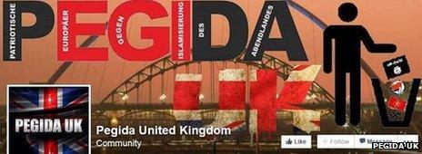 Pegida UK Facebook profile image