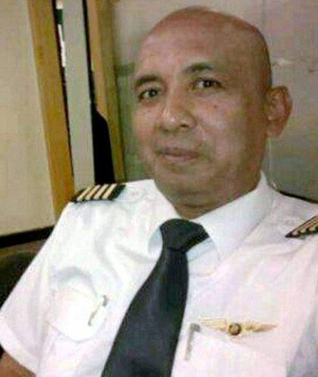 Captain Zaharie Ahmad Shah, pilot of the missing Malaysia Airlines flight MH370