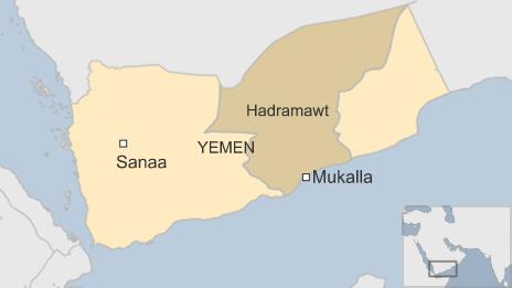 A map of Mukalla