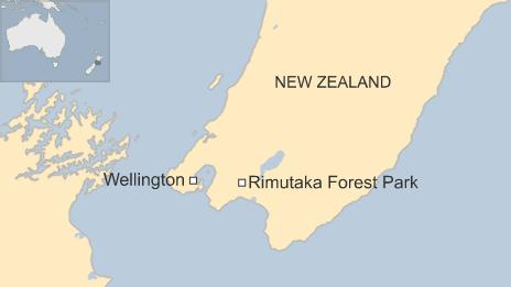 Map of Rimutaka