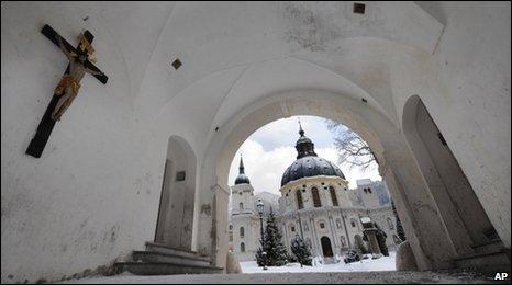 Ettal Monastery, southern Germany