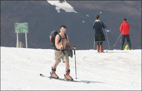 Skiing in the Cairngorms (Pic by peter Jolly)