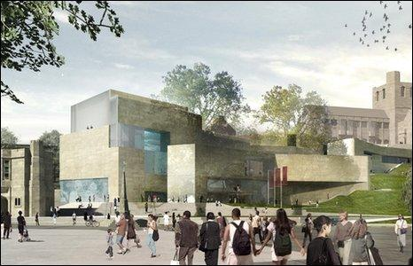 Image shows how the new centre could look