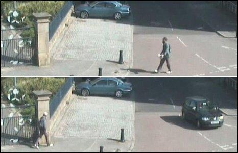 CCTV images of suspect