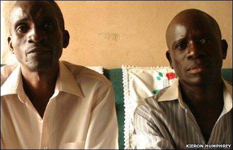 Stanley Kingaipe and Charles Chookole