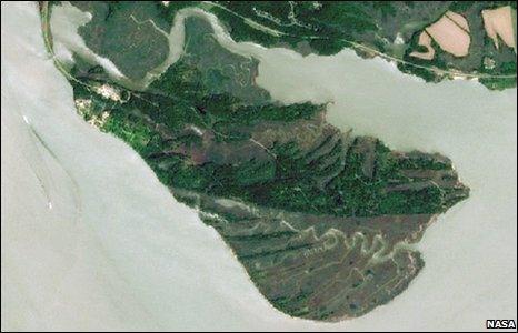 Jamestown Island (Nasa)