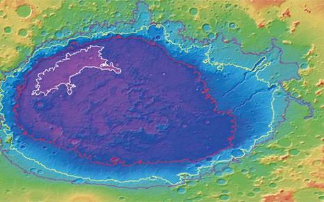 Huge seas 'once existed on Mars'