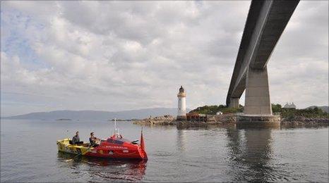 Row for Heroes at Skye Bridge