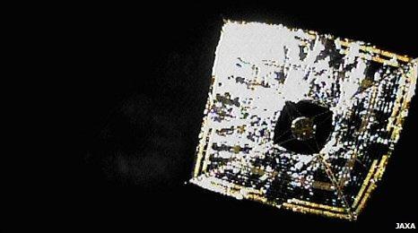Ikaros solar sail (Jaxa)