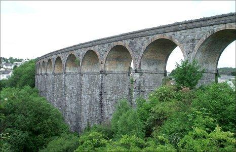 Cefn Viaduct (Image courtesy of MTCBC)