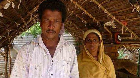 Rizana's father, Sulthan and her mother Rafeena