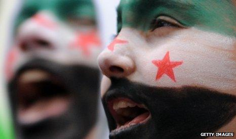 Syrian opposition activists