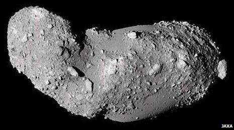 Asteroid Itokawa (Jaxa)