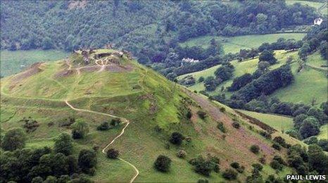 Castell Dinas Brân