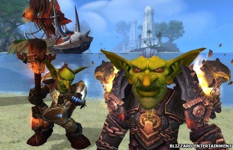World of Warcraft screen grab