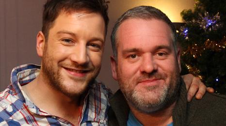 Matt Cardle and Chris Moyles