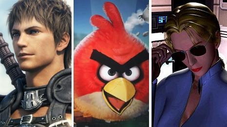 Final Fantasy, Angry Birds and Enemy Zero