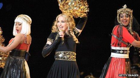 Nicki Minaj, Madonna, M.I.A.