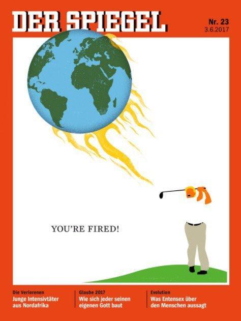 Front cover of Der Spiegel, 3 June