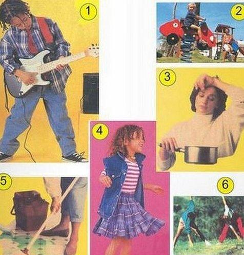 Textbook showing gender stereotypes in Tunisia