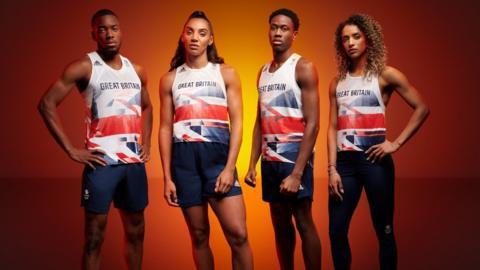 Team GB: Olympic Games kit unveiled - CBBC Newsround