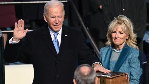 Joe Biden becomes 46th US president: The day in photos - CBBC Newsround