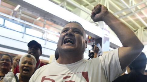 Chavistas.