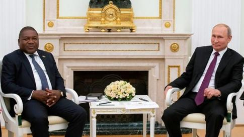 Mozambique President Filipe Nyusi paid a state visit to Moscow in August